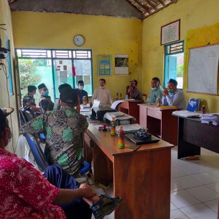 Kunjungan Komisi I DPRD Kabupaten Rembang ke Desa Karangsari